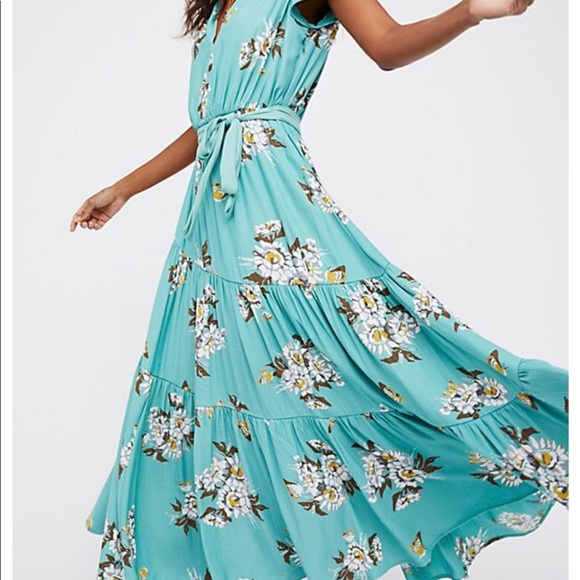 Free People Dresses & Skirts - Free People All I Got printed maxi